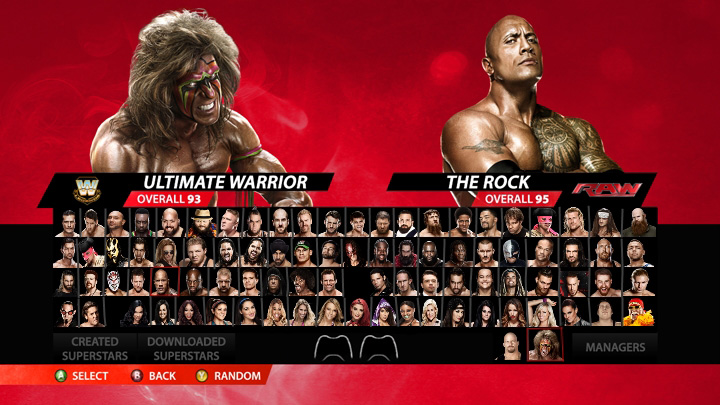 wwe-2k15-roster-reveal-gamer-ninja-rock-ultimate-warrior