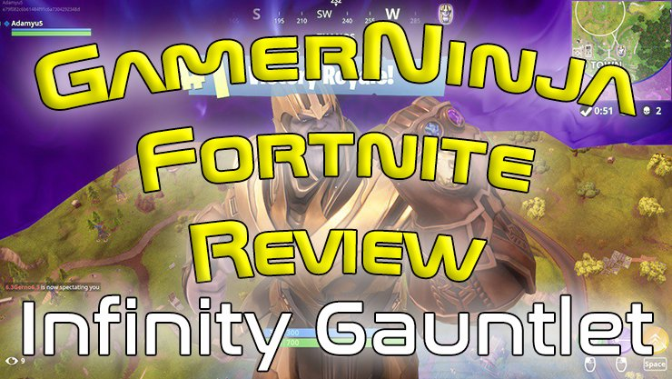 Defeating Thanos Tips | Infinity Gauntlet Review | Fortnite Game Review