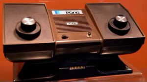Pong Console Seventies Video Gaming Industry