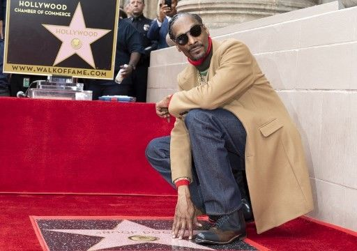 Snoop Dogg Earns Star on Hollywood Walk of Fame
