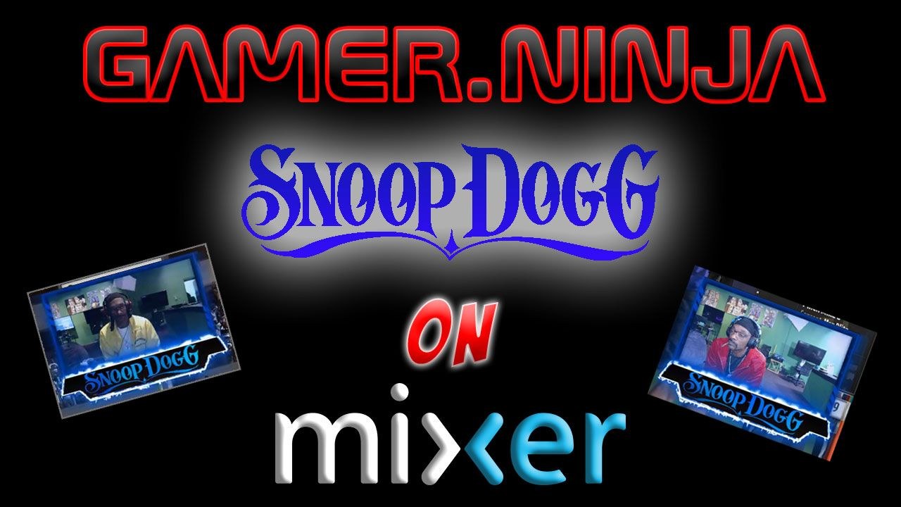 Snoop Dogg on Mixer Live Streaming