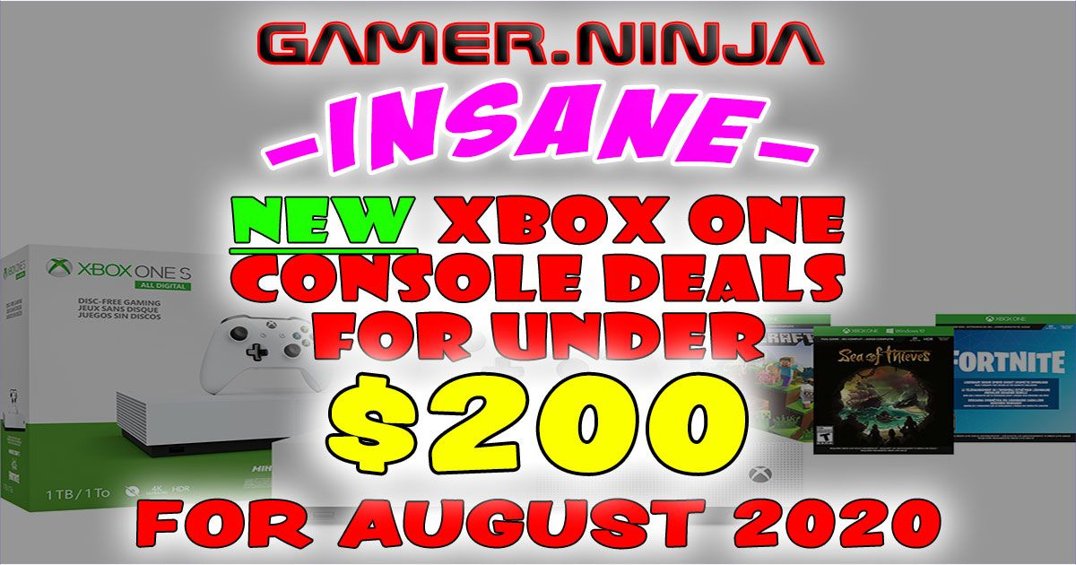 Cheapest Xbox One S Console Aug-Sept 2020