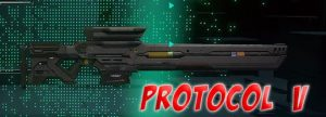 Hyper Scape Battle Royale Weapons Protocol V Sniper Rifle Gamer Ninja 540x195 px
