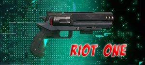 Hyper Scape Battle Royale Weapons Riot One Heavy Pistol Gamer Ninja 540x242 px