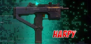 Hyper Scape Battle Royale Weapons Harpy Rapid Fire SMG Small Machine Gun Gamer Ninja 540x264 px