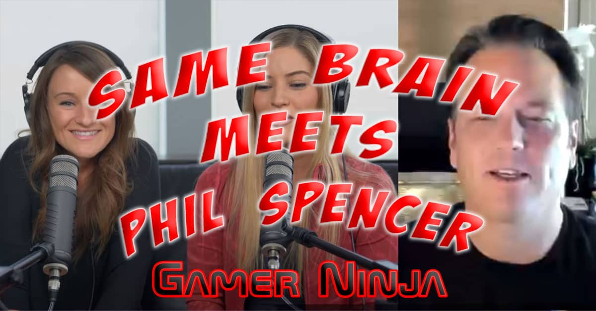 Same Brain Podcast Meets Xbox's Phil Spencer