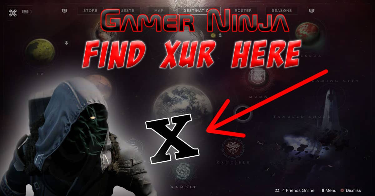 Xur Can Be Found Here on Destiny 07-31-2020