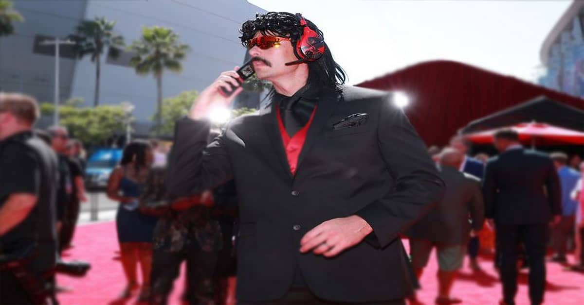 Twitch Awards 2018 Dr DisRespect Flip Phone Gamer Ninja