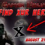 Xur Can Be Found Here 08-21-2020 Destiny 2