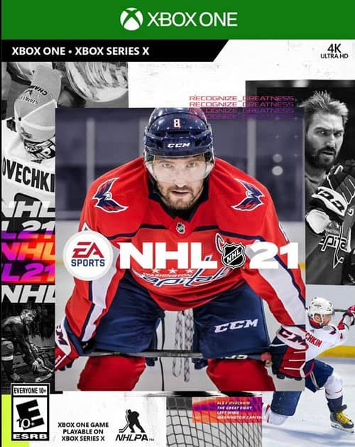 NHL 21 Xbox One DVD Packaging Featured Game Review on Gamer Ninja