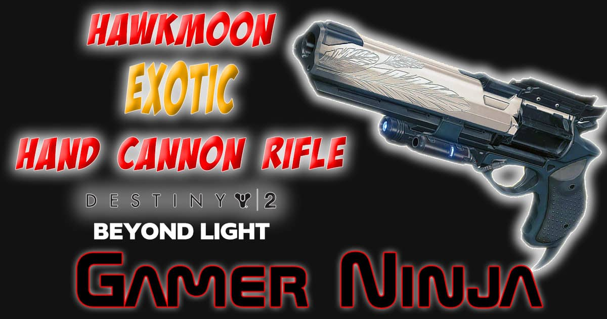 Hawkmoon Exotic Hand Cannon