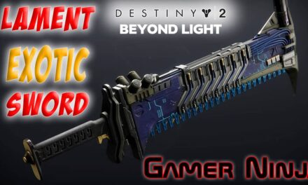 Lament Exotic Sword